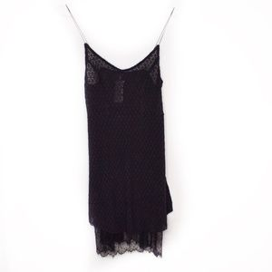 Intimately Free People Black Lace Slip Dress SP